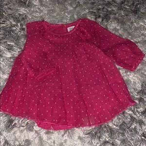 Baby Chiffon Polkadot Dress